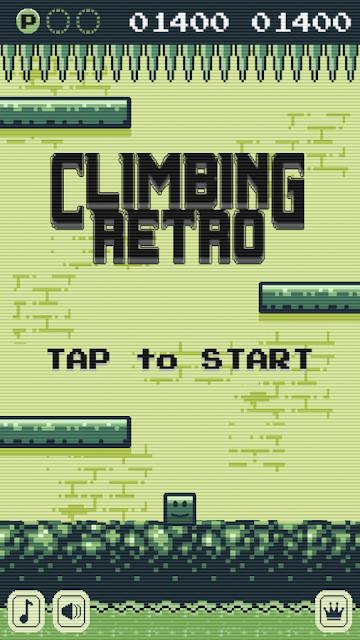 Climbing Retro, un juego sencillo, directo, divertido y gratis para tu móvil Android