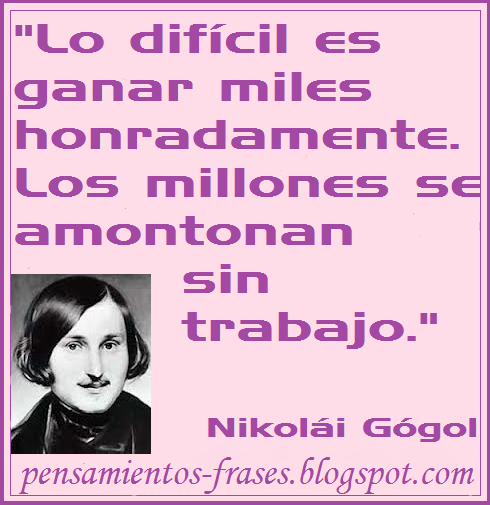 frases de Nikolái Gógol