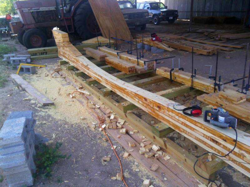 main keel timber lamination