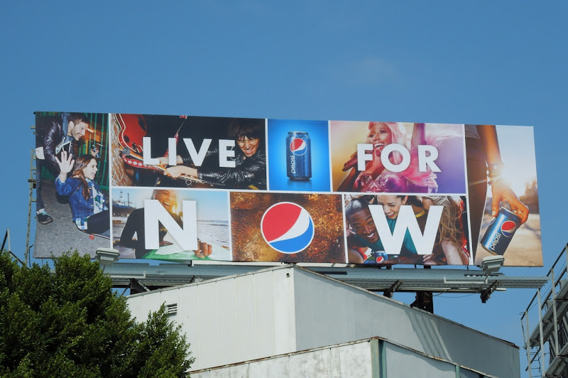 Pepsi Live For Now Nicki Minaj billboard