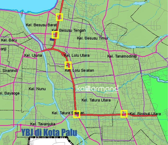 Yellow Box Junction Kota Palu