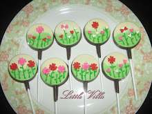 Coklat lolipop with deco