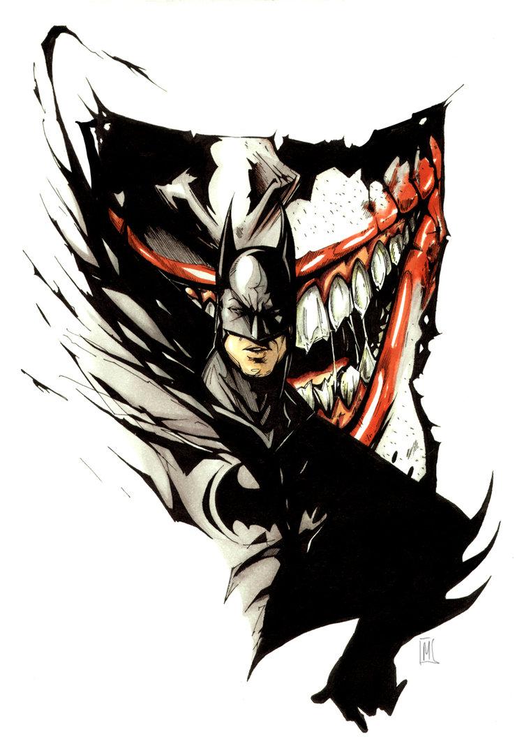 Art Vs Design : Melike acar batman tattoo