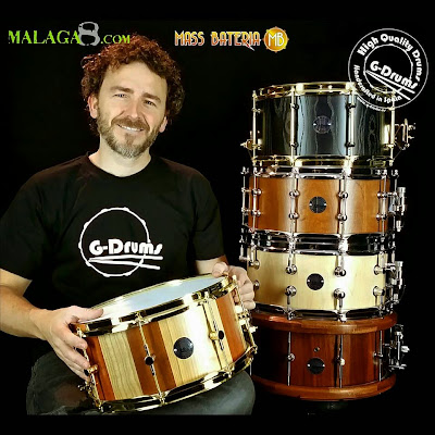 German g drums anunciando el evento en malaga8