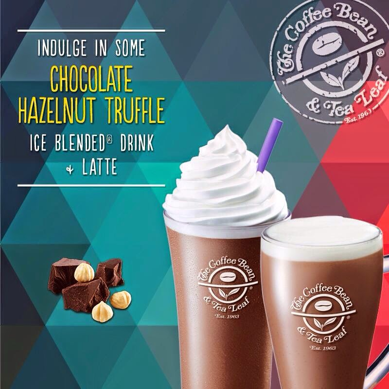 There's a New CBTL Drink in Town: The Chocolate Hazelnut Truffle Ice Blended and Latte!
