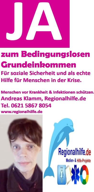 Andreas Klamm: Ja zum Bedingungslosen Grundeinkommen