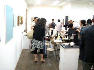 Opening party at Gallery Yusai.