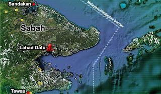 Op Daulat 7 MAc 2013 | Kepungan Di Darat & Laut Oleh Pasukan Keselamatan
