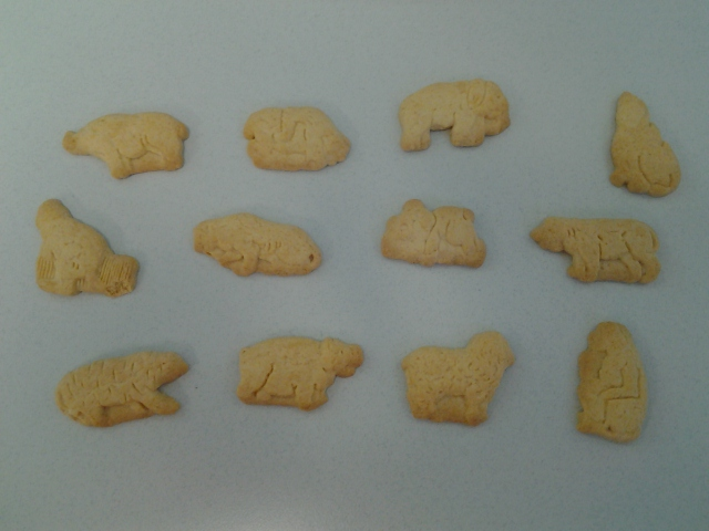 What the hell are these animal crackers supposed to be?