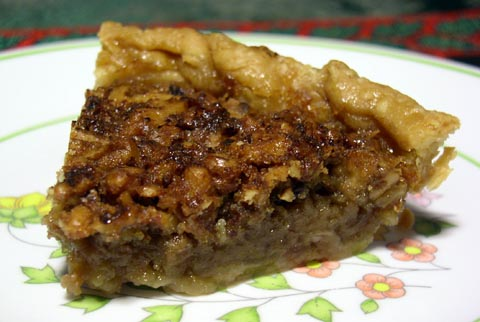 Thinking With Your Stomach: Canadian Maple Walnut Pie