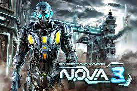 N.O.V.A. 3 (Android) Crysis + Halo