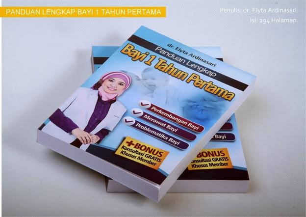 Buku Panduan Cara Merawat Bayi yang Lengkap dari Dr. Eyita Ardinasari