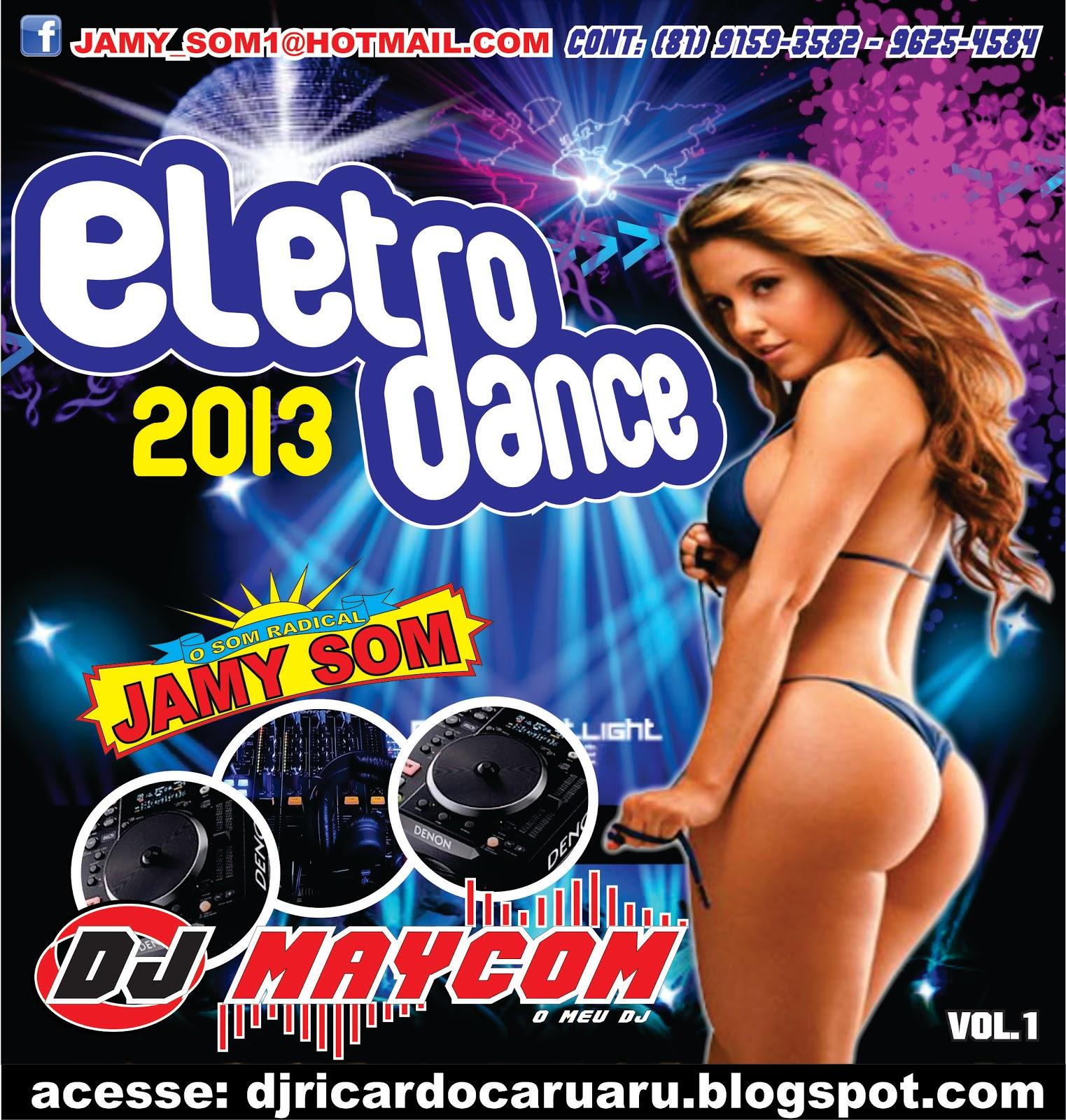 BAIXAR - CD Eletro Dance 2013 - Dj Maycom