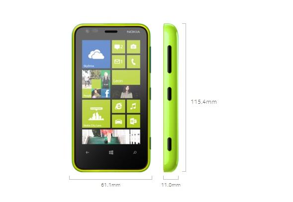 Harga Nokia Lumia 620 Dan Spesifikasi Lengkap