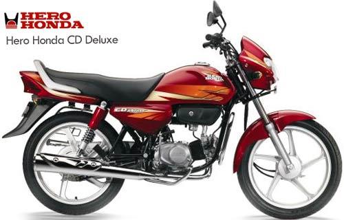 Hero Honda Cd Deluxe Specification  Price  Mileage