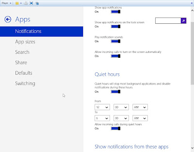 Windows Blue 8.1 - 9374 Leaked  quiet hours updating tiles