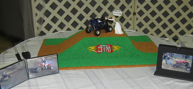 4-Wheeler Themed Groom's Cake 1