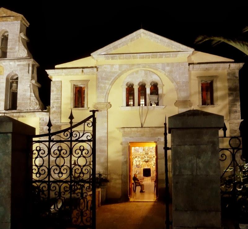 Kirche Agios Spiridonas in Lefkada Stadt