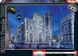 Santa_Maria_Del_Fiore_Cathedral_Florence_puzzle_hdr_1000_parça_kutu_box