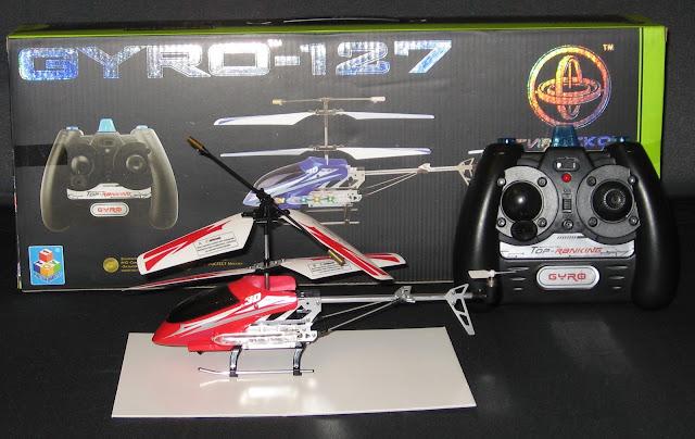 радиоуправляемый вертолет GYRO-127
