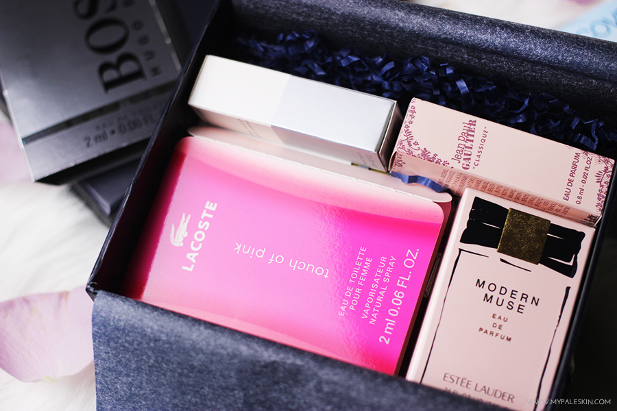 Discovery Club, Fragrance, Beauty Box, Subscription box, The Fragrance Shop, perfume sample
