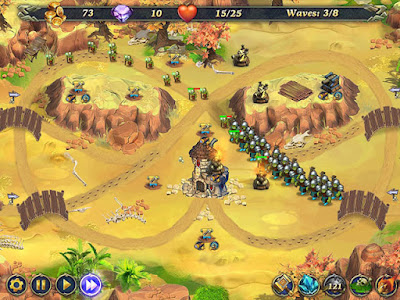 Gratis Download Royal Defense - Game Pertempuran Pertahanan