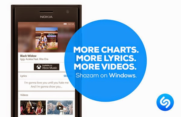 Shazam for Windows Phone gets Trending, Future Hits, Genre Charts and more in latest update