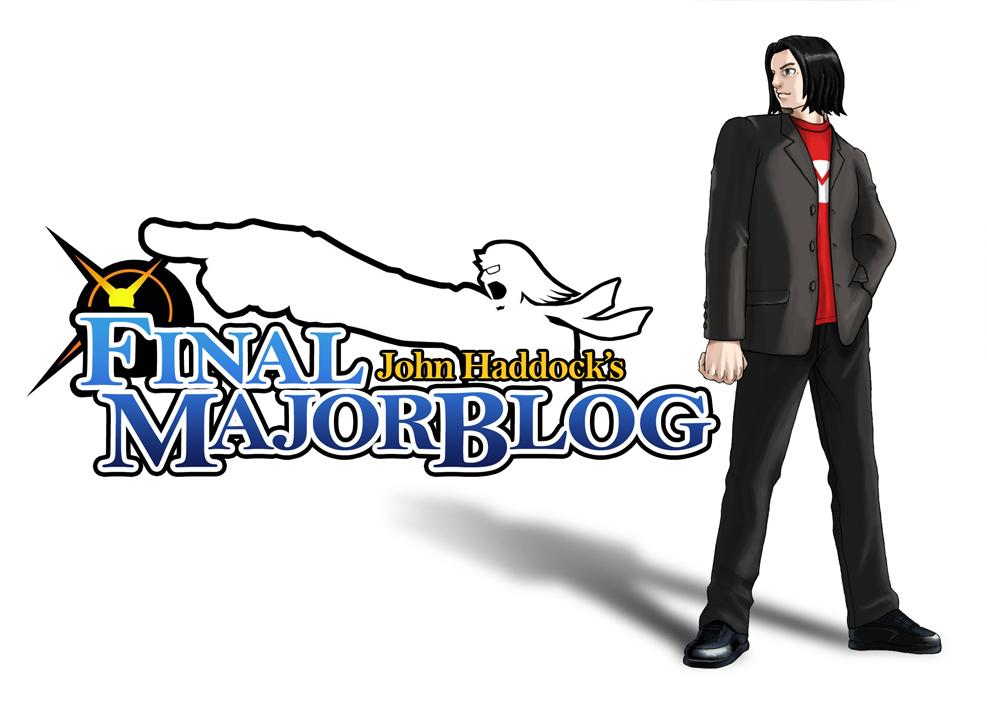 John Haddock's Final Major Blog
