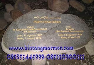 Batu Makam Marmer Tulungagung