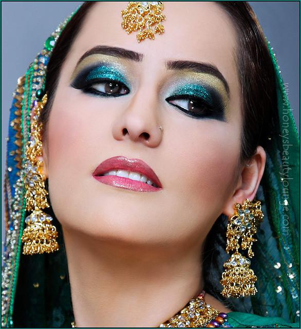 glamour girls life arabic wedding makeup