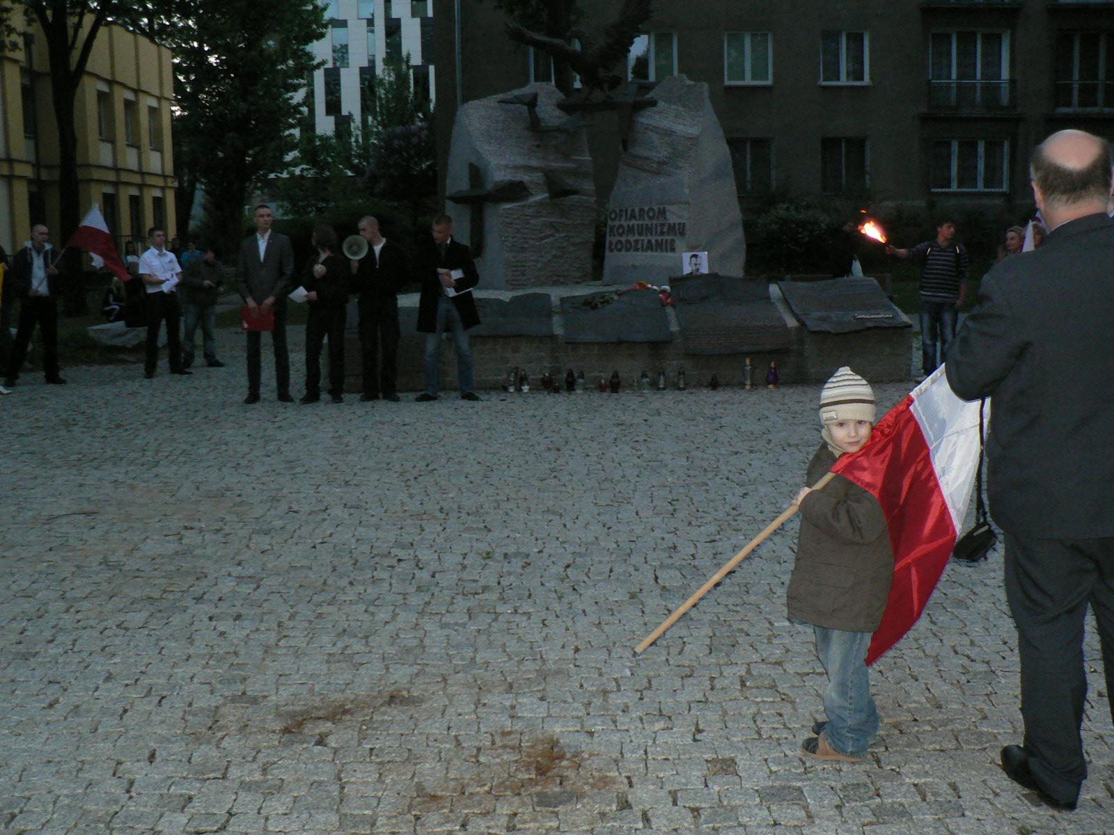 Marsz Rotmistrza Pileckiego w Łodzi (relacja)