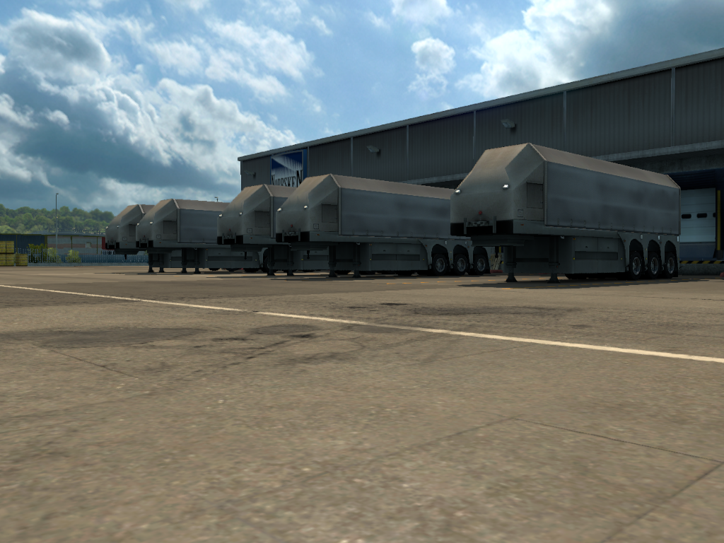 All Glass Trailer | ETS2MP-MODS