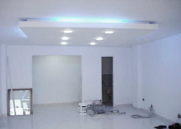 M2c arquitectura y dise o integral proyecto for Techos de drywall para cocinas