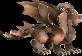 imagen del dragon granito adulto