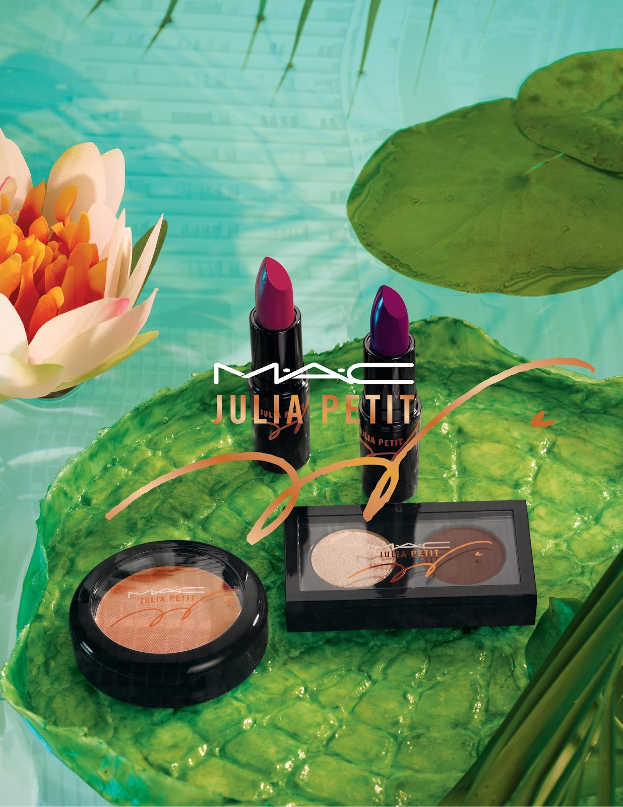 MAC Julia Petit Collection - March 19th, 2015 NZ launch