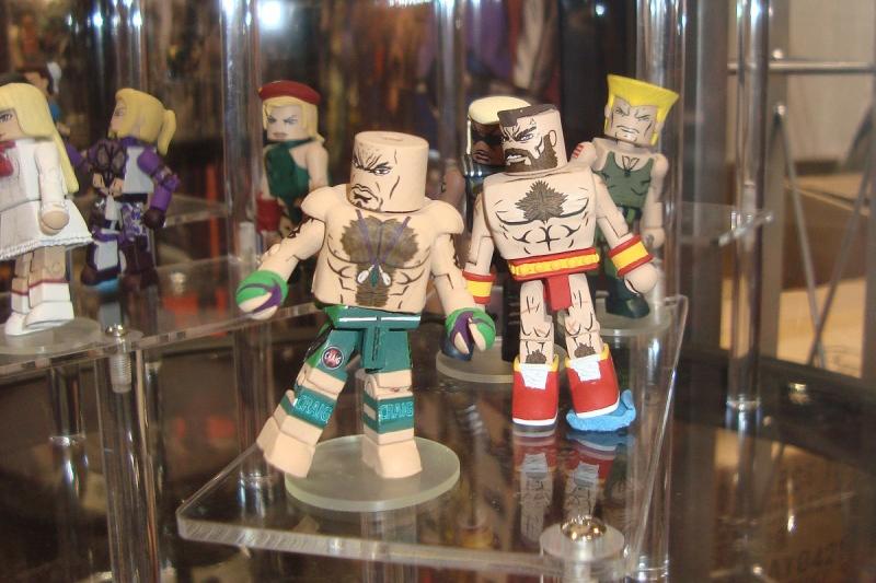 Street Fighter x Tekken Minimates C2E2