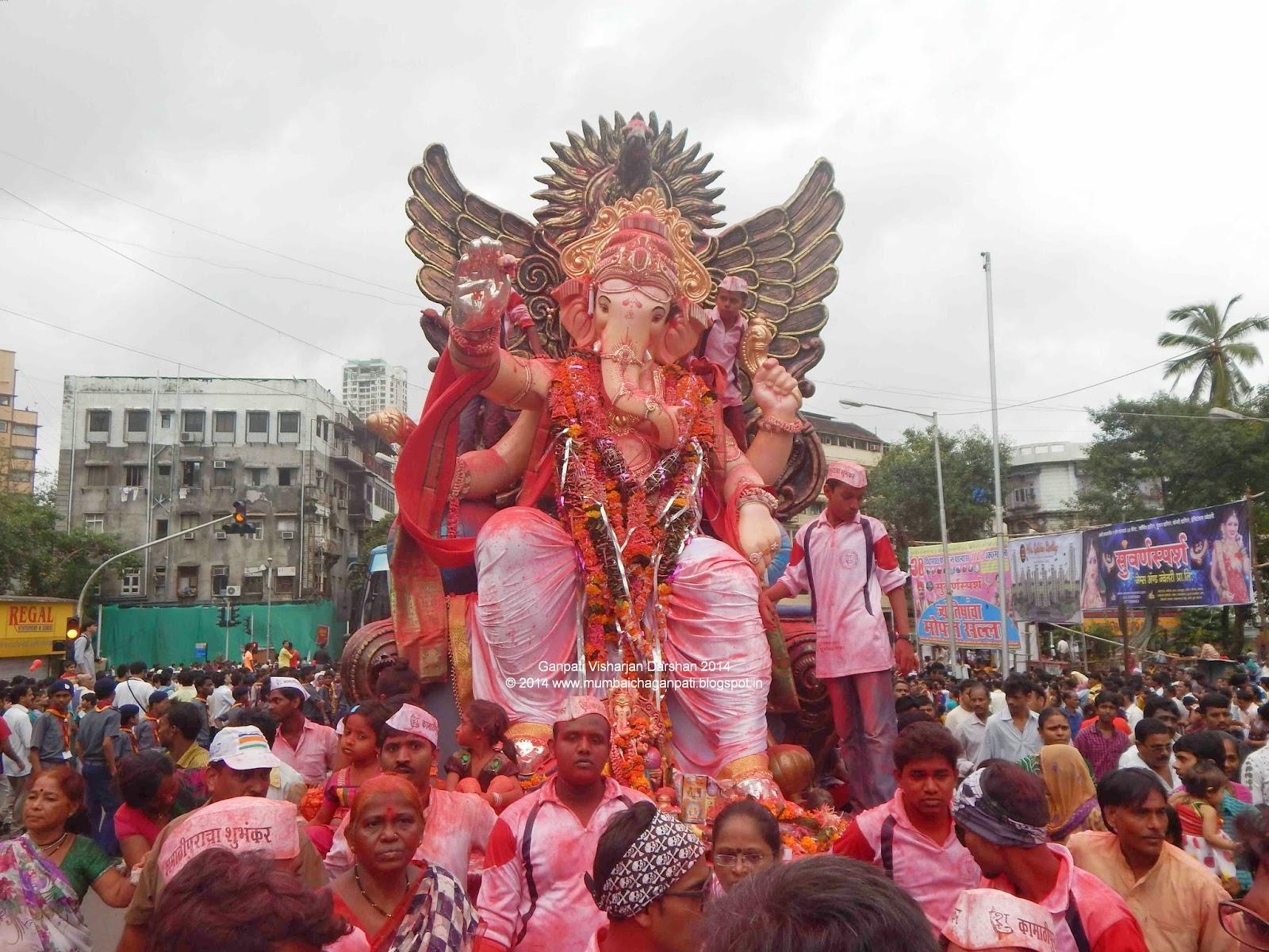 """""""Visharajan Darshan Girgaum Chaupati"""""""