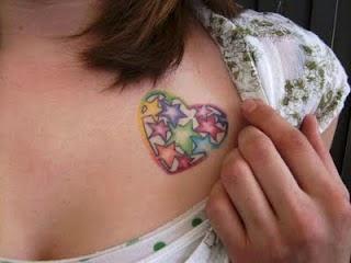Tatuagens de estrela  ficam bem em qualquer parte do corpo