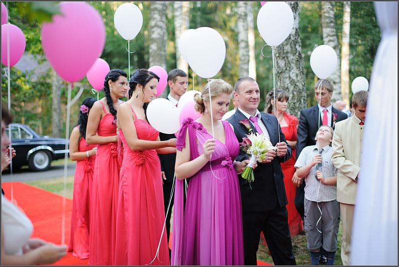balionai vestuvėse