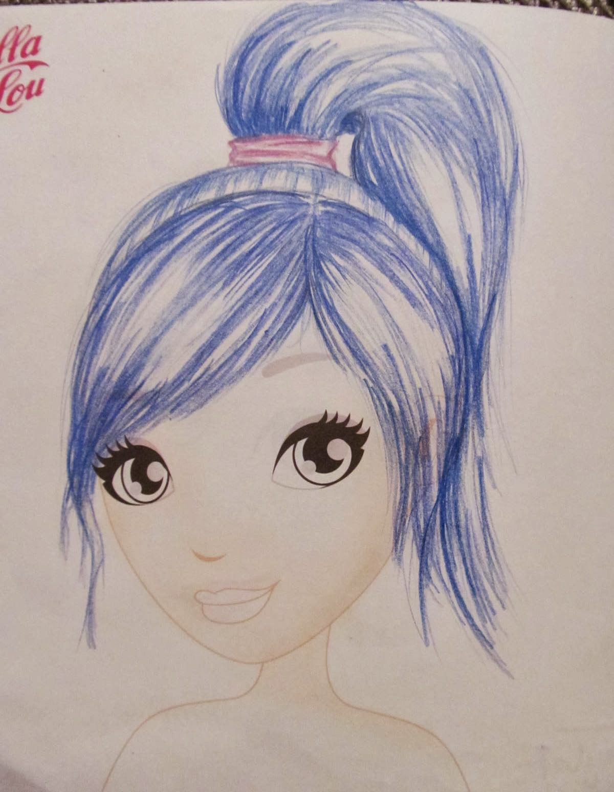 Lilla Lou Bloguje Jak Rysować Włosy Taylor