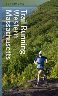 Trail Running Western Massachusetts book cover