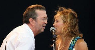 sheryl crow and eric clapton relationship