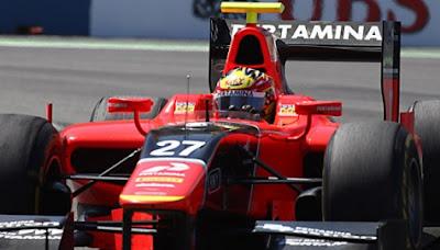 GP2 Rio Haryanto Finish ke-13 tetap yang terhebat