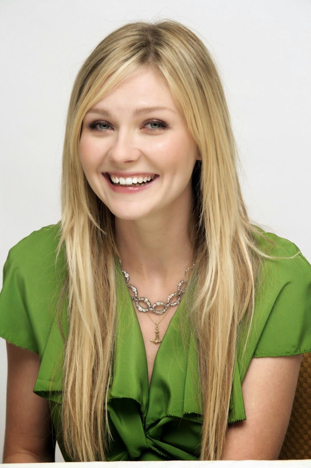 Kirsten Dunst Cute Smile Wallpaper