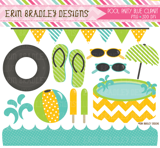 Erin bradley designs for Pool design graphic