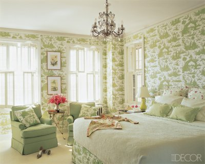 soft hued green and white toile bedroom green with envy enchanted blogenchanted blog