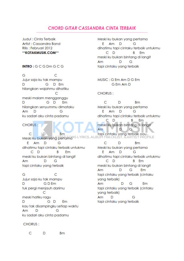 Chord Kerispatih Demi Cinta | krispatih demi cinta chords chordify, chord lagu kerispatih ...