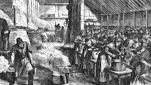 Famine Soup Kitchen Facts