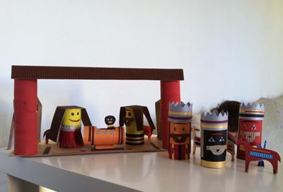 giocabosco: creare con gnomi e fate: lavoretti con i tubi della ... - Animali Con Tubi Di Carta Igienica