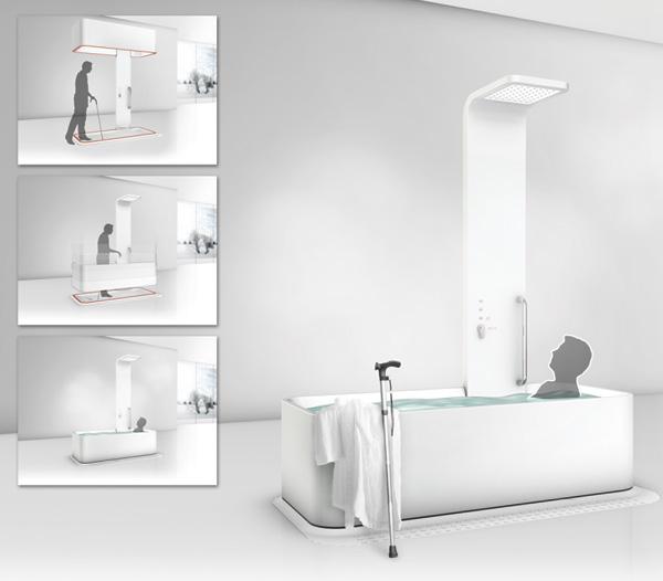Уникальная ванна The Elevated Bathtub